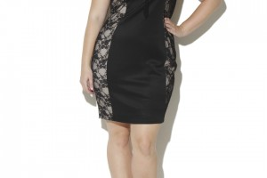 $8.99 LACE ILLUSION BODYCON Plus Size DRESS!!!