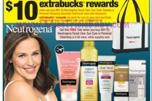FREE + $0.43 MM: CVS Neutrogena Deal