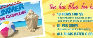 $5 for 10 Movies this Summer at Cinemark Plus: $1 OFF a Snack Pack