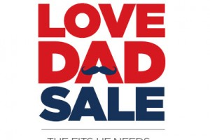 Love Dad Sale at JC Penney: $10/$25 or $20/$75 Online!!!