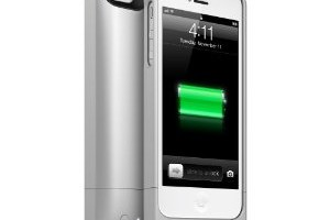 $39.99: mophie – Juice Pack Helium  for Apple® iPhone® 5 & 5s – Silver (Reg. $79.99)