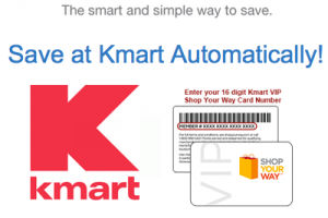 Redeem SavingStar Offers at KMART now!