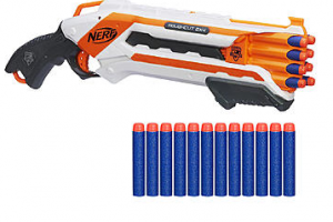 $14.49 Nerf N-Strike Elite Rough Cut 2X4 Blaster & Elite Dart Refill Bundle (Reg. $21.99)