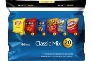 $5.38 Frito-Lay Chips Flavor Mix Multipack 20-Pack (1-oz bags)