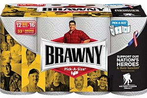 High Value $2.00 off one Brawny Paper Towel 12 big roll Coupon
