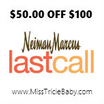 $50 OFF $100 Purchase at Neiman Marcus Last Call w/VISA Checkout!