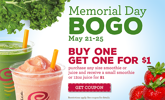 BOGO $1 Jamba Juice Coupon