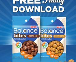 Kroger Friday Free Friday Download 7/3 :1 FREE Balance Bites (1.48 oz.)
