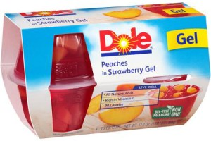 New Coupon: $1.05 off (2) DOLE Fruit in gel