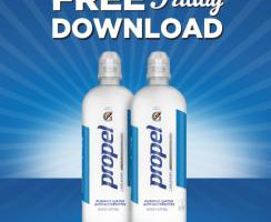 Kroger FREE Friday Download 8/14: Propel Water Electrolytes (750 ml)