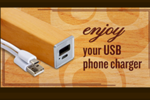 FREE USB Portable Charger From Black & Mild