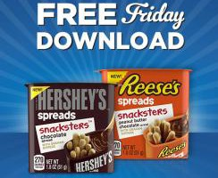 Kroger FREE Friday Download 11/6 Hershey's or Reese's Snackster