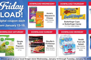 Kroger: Whole Week of Freebie's!!!