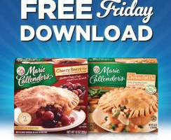 Kroger FREE Friday Download: 1 Marie Callender's Pot Pie or Fruit Pie