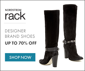Save up to 70% OFF Retail at Nordstrom Rack + FREE Shipping