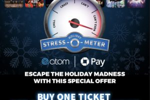 HOT: BOGO FREE Movie Tickets w/ Chase Pay Payment on Atom App!