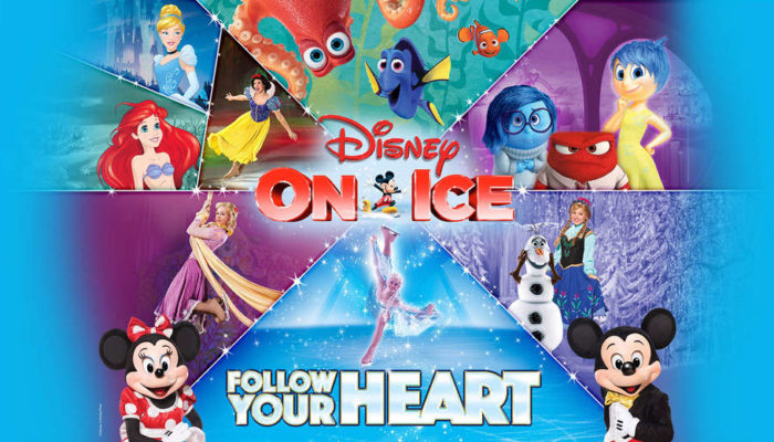 Disney On Ice: Follow Your Heart Oakland $18.50 Tickets (Reg $24.25)