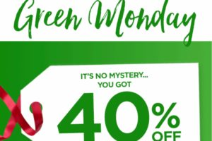 HOT: Save up to 40% w/Kohl's Mystery Green Monday Coupon!