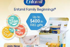 Enfamil Family Beginnings Sign Up for FREE Gifts