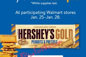 FREE: Hershey's Gold Candy Bar at Walmart!