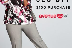 $25 OFF $100 at the Avenue!
