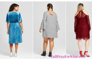 Target: Clearance Plus Size Dresses as low as $8.38 + FREE Ship to Store (Reg $29.99)