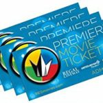 $34 4-Pack Regal Premiere Movie Tickets!!! (Reg $50)